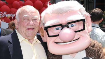 """FILE - AUGUST 29:  Actor Ed Asner, star of """"The Mary Tyler Moore Show"""" and """"Lou Grant"""" has died at the age of 91. Actor Ed Asner arrives to the Los Angeles premiere of """"UP"""" held at the El Capitan Theatre on May 16, 2009 in Hollywood, California. (Photo by Barry King/FilmMagic)"""