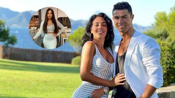 Imagen de Natacha Sofía, Georgina y Cristiano Ronaldo.