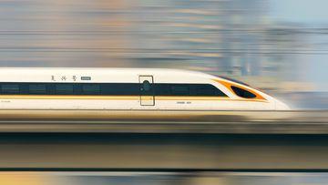 El tren más rápido del mundo.