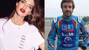 Sara Carbonero recuerda en Instagram su pasado periodístico junto a Fernando Alonso.