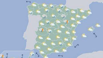 El tiempo atmosférico en toda España para el próximo puente de Todos los Santos.
