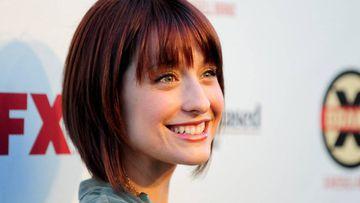 La actriz de Smallville Allison Mack, detenida por su implicación en la secta sexual Nxivm.