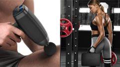 Tenemos la pistola de masaje que utilizan futbolistas y otros deportistas profesionales