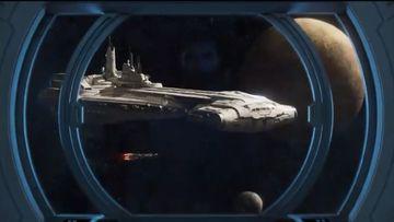Imagen del prototipo de nave que servirá como Hotel Star Wars.