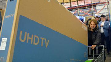 Compras de televisores en el Black Friday