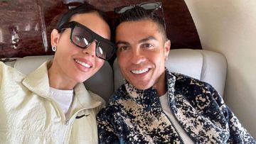 Imagen de Georgina Rodríguez y Cristiano Ronaldo.