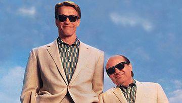 Arnold Schwarzenegger y Danny DeVito.