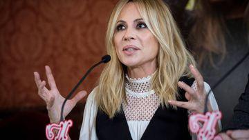 La reacción de Marta Sánchez tras viralizarse su versión de la letra del himno de España.