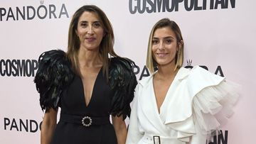 MADRID, SPAIN - SEPTEMBER 09:  Paz Padilla (L) and Anna Ferrer Padilla (R) attend the 3rd 'Cosmopolitan Influencer Awards' at the Fortuny Club on September 09, 2021 in Madrid, Spain. (Photo by Carlos Alvarez/Getty Images)