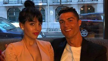 Cristiano Ronaldo y Georgina Rodríguez disfrutan del fin de semana en su hotel de Lisboa.