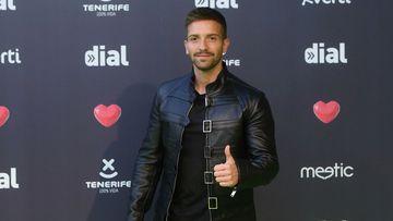 Imagen de Pablo Alborán en los premios de Cadena Dial.