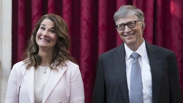 Imagen de Melinda y Bill Gates.