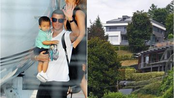 Así es la villa moderna y lujosa de Cristiano en Turín