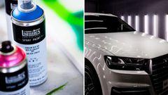 Tu vehículo, como nuevo con esta selección de pinturas para el coche: carrocería, llantas, bajos…