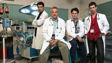 Imagen de los actores de 'Hospital Central'.
