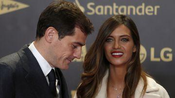 Imagen de Iker Casillas y Sara Carbonero.