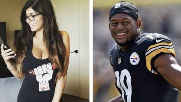 """Futbolista de los Steelers a Mia Khalifa: """"No voy a caer, soy joven pero no estúpido"""". Foto: Instagram"""