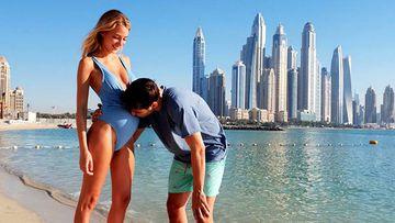 Morata y Alice Campello se regalan una escapada a Dubai