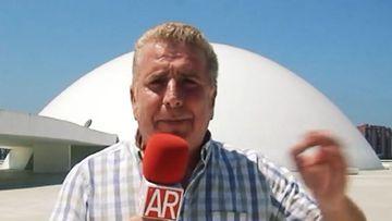 Imagen de Paco Blanco, el reportero de 'El programa de Ana Rosa'.