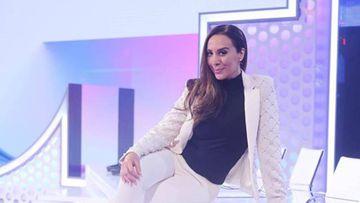 Mónica Naranjo en el plató de Operación Triunfo 2017, edición en la que formó parte del jurado.