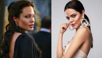 Imagen de Angelina Jolie y Halil Altinbilek.