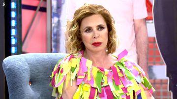 Imagen de Ágatha Ruiz de la Prada en 'Sábado Deluxe'.