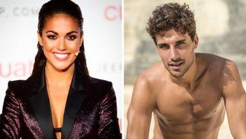 Imágenes de la presentadora Lara Álvarez y del exfutbolista y modelo Jaime Astrain.
