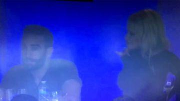 Pamela Anderson y Rami, amor en el palco del Marsella