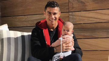 Cristiano Ronaldo: increíble parecido de su hija Alana Martina con Georgina. Foto: Instagram