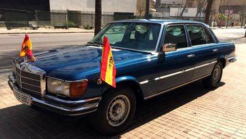 El coche del Rey Juan Carlos, adjudicado en una subasta