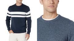 Renueva tu ropa de entretiempo con este jersey de algodón, disponible en más de 40 colores