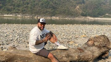 Imagen de Kiko Rivera en Nepal.