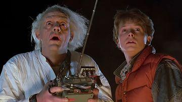 Doc y Marty MacFly.
