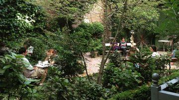 El Café del Jardín, situado dentro del Museo del Romanticismo es una de las mejores terrazas de Madrid para pasar el verano.