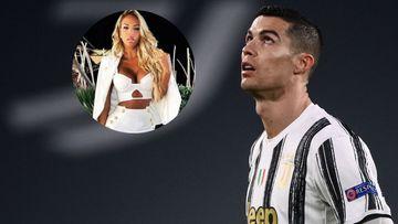 Imagen de Cristiano Ronaldo y Jacqueline Sousa.