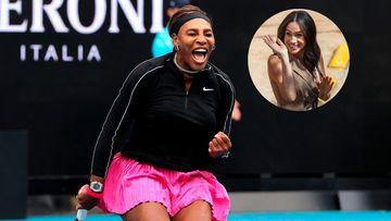 Imagen de Serena Williams y Meghan Markle.