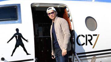 Cristiano gana un millón de euros con su jet privado