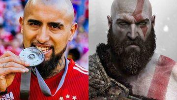 El Bayern Munich compara a Vidal con Kratos, protagonista del videojuego God of War.