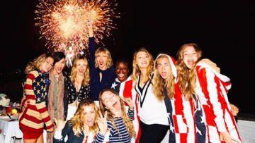 Fiesta del 4 de Julio de Taylor Swift (Instagram)