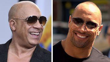 Vin Diesel y Dwayne Johnson.