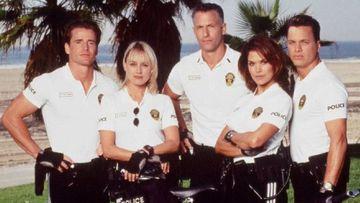 Imagen de los actores de 'Pacific Blue'.