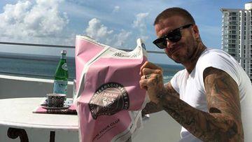 David Beckham responde con una imagen a los que se preguntan por qué eligió Miami como ciudad para su equipo.