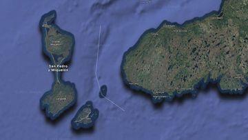El archipiélago está frente a Terranova.