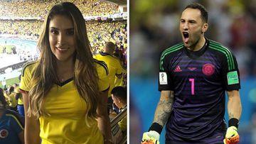 Imágenes de los hermanos y deportistas colombianos Daniela y David Ospina.