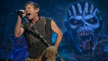 Bruce Dickinson, cantante de Iron Maiden.