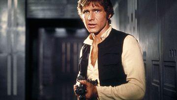 Harrison Ford es Han Solo en Star Wars.