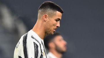 Imagen de Cristiano Ronaldo durante un partido.