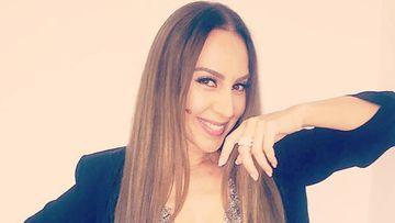 La cantante catalana Mónica Naranjo posando sonriente.