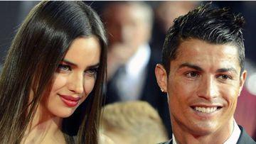 Irina Shayk y Cristiano Ronaldo en una gala.