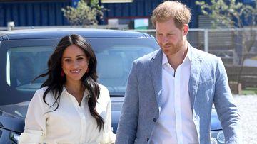 Imagen de Meghan Markle junto al príncipe Harry.